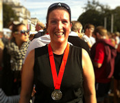 On 6th October, Tracey completed the Cardiff Half-Marathon
